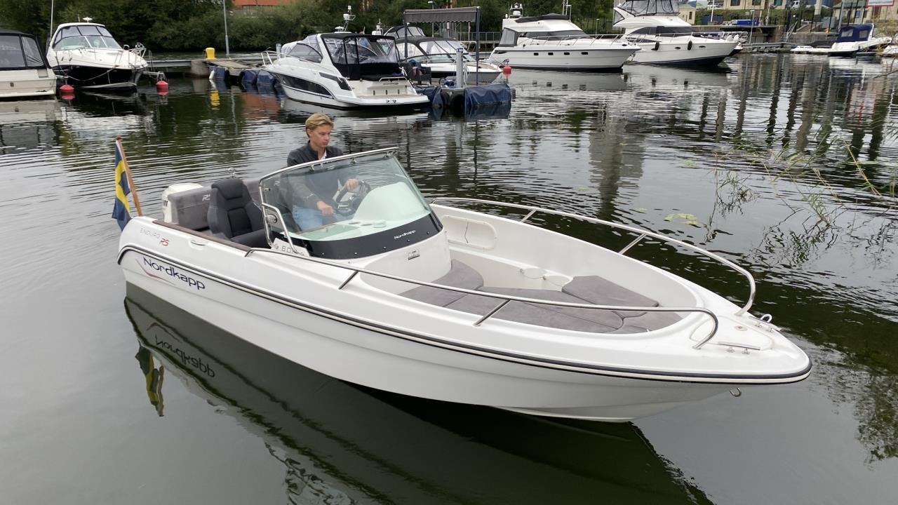 Nordkapp 600 Enduro Med Evinrude E-tec 115 HO